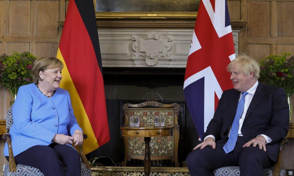 Merkel, İngiltere'yle sorunun çözümü konusunda iyimser: Kuzey İrlanda Protokolü