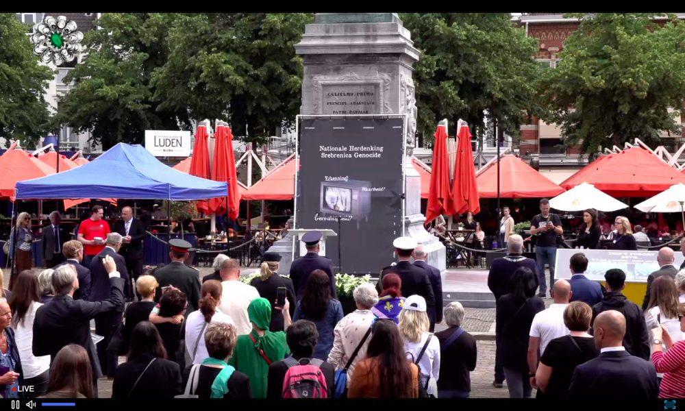 Srebrenitsa kurbanları: Hollanda'da bir savaş suçu 26'ncı yılında anıldı