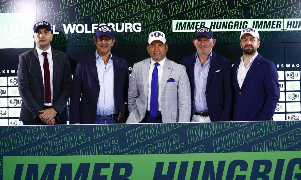 Kiğılı, Bundesliga'da Wolfsburg futbol takımına kıyafet sponsoru oldu