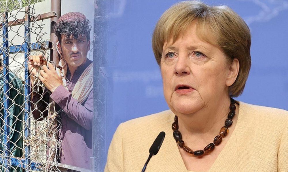 Afganistan'daki 40 milyon insanın kaosu izlenmemeli: Angela Merkel'in uyarısı