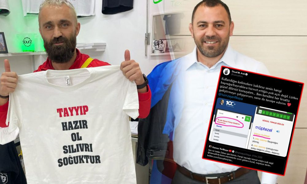 """Sosyal medyada Ünsal Arık-Hamza Yerlikaya kavgası: """"Tasma takıp köpek gibi gezdiririm seni"""""""