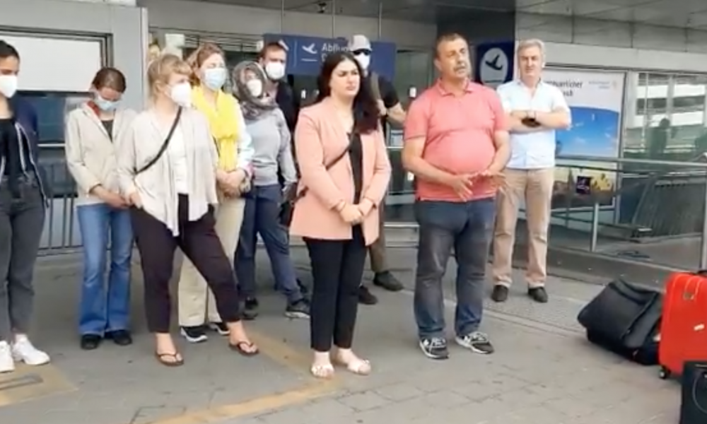 Erdoğan yüzünden mi? Hamburg milletvekilleri havaalanında gözaltına alındı!