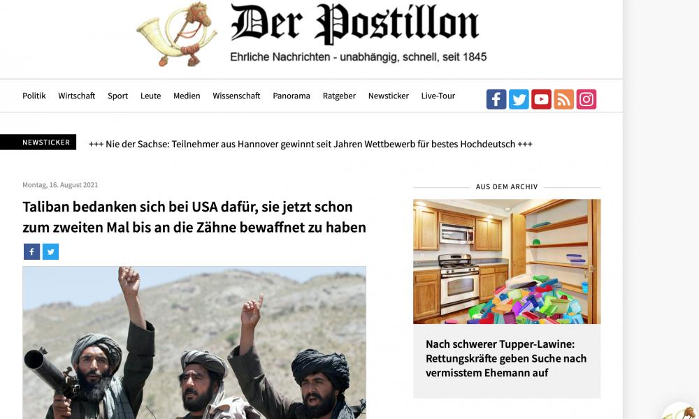"""ABD'ye şakayla karışık ağır suçlama: """"Taliban'ı sen silahlandırdın"""""""