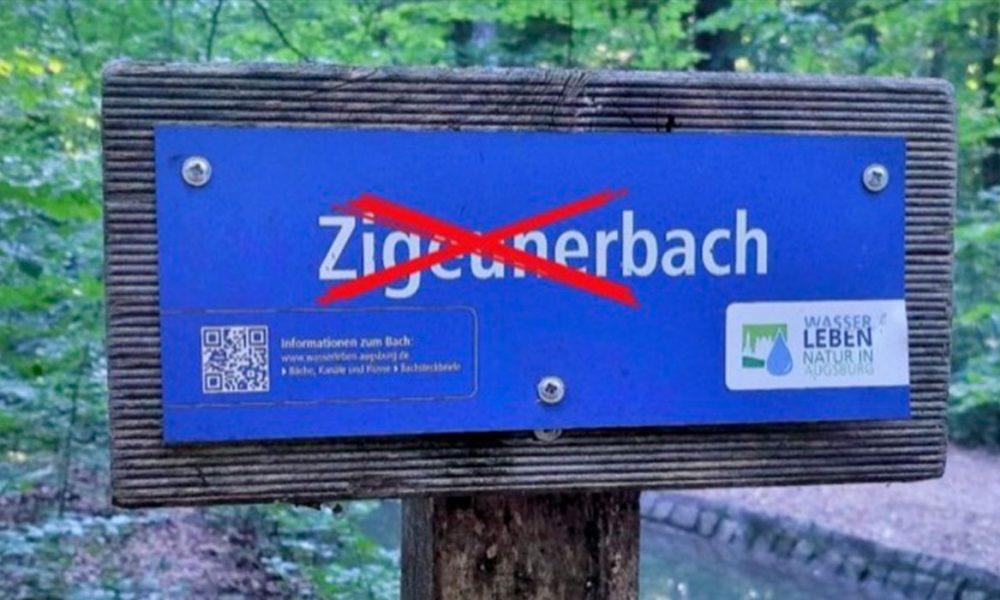 """Augsburg'ta """"ayrımcılığa karşı mücadele"""": """"Çingene Deresi""""nin adı değiştirildi"""