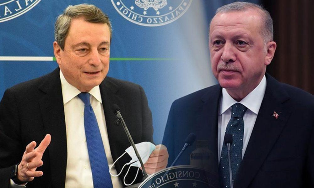 Cumhurbaşkanı Erdoğan ile İtalya Başbakanı Draghi görüşmesi: Afganistan masada