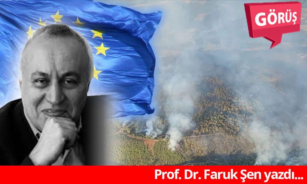 """Prof. Dr. Faruk Şen: """"AB, Türkiye'ye ciddi yardım sunmalı"""""""