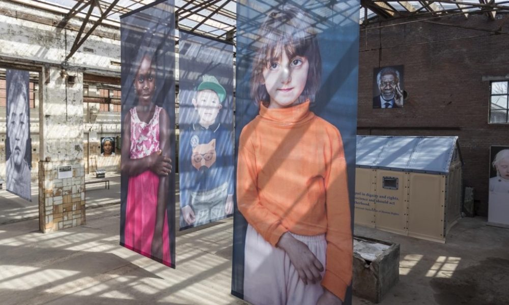 Ahlen'de İnsanlık Müzesi Sergisi: 70 portre ile bireye saygı