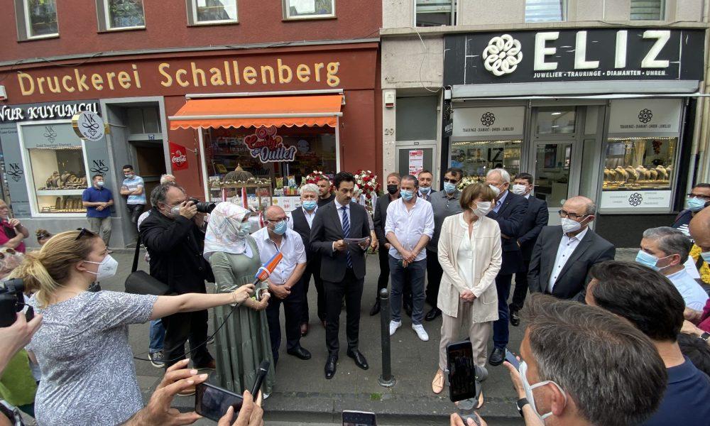 Köln: NSU terör örgütünün kanlı saldırısının 17'nci yılında anma töreni düzenlendi