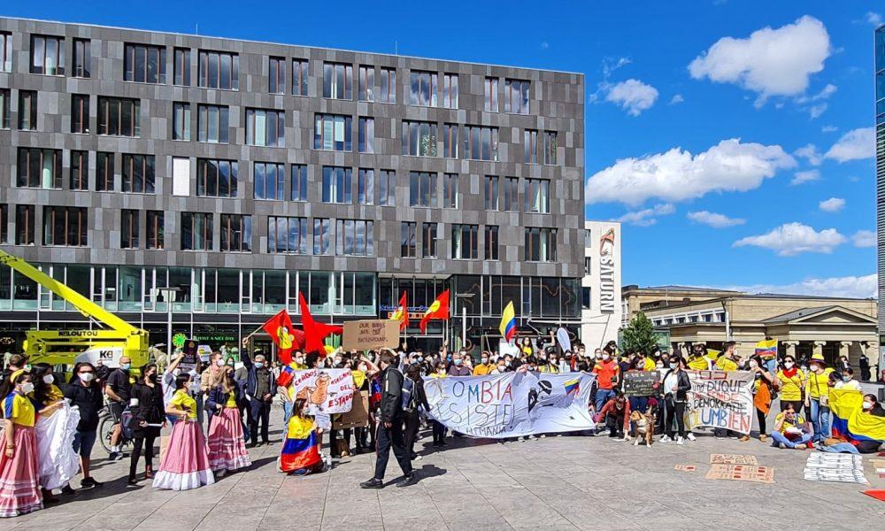 İspanya'dan sonra: Kolombiya halk direnişine şimdi de Almanya'dan destek