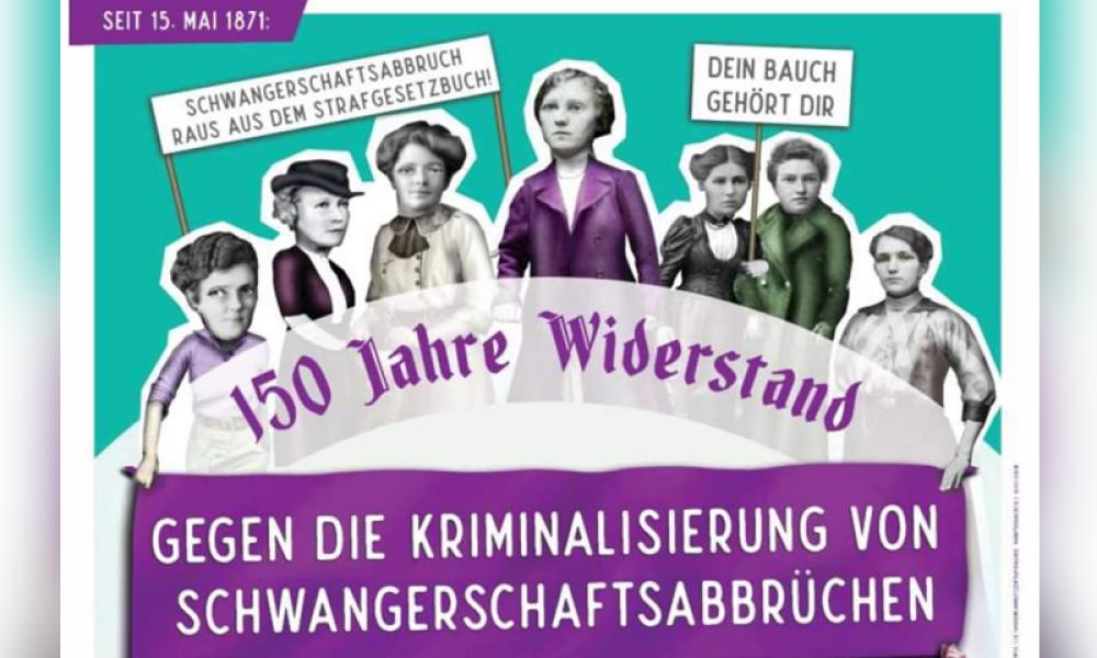 """Kadınlar 150 yıldan bu yana mücadele içinde: Almanya'nın 30 şehrinde """"kürtaj hakkı"""" eylemleri"""