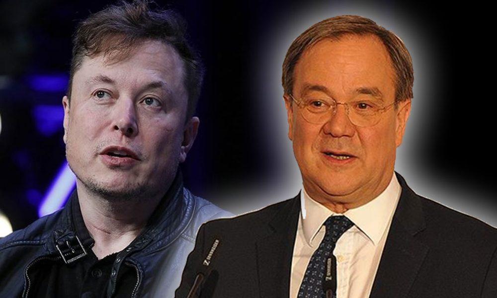 "Armin Laschet'in ""hidrojen gafı"" Elon Musk'a kahkah attırdı"