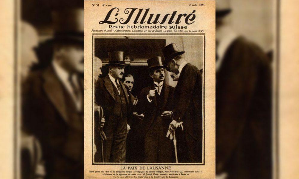 """Almanya'daki Atatürkçülerden """"L'Illustré"""" kapağı ile Lozan mesajı"""