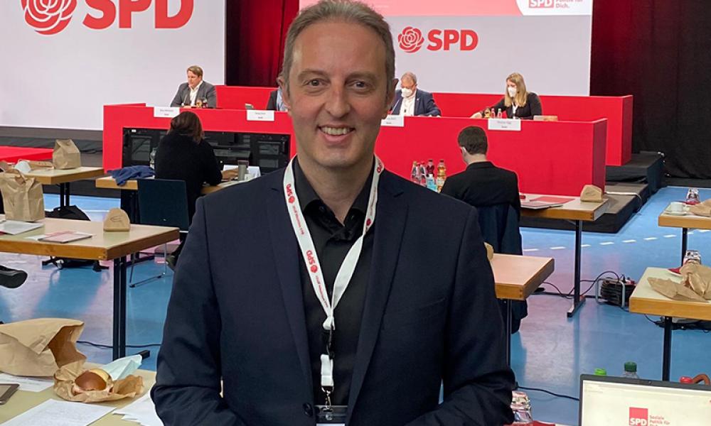 SPD'nin Baden-Württemberg listesinde bir Türk aday: Macit Karaahmetoğlu