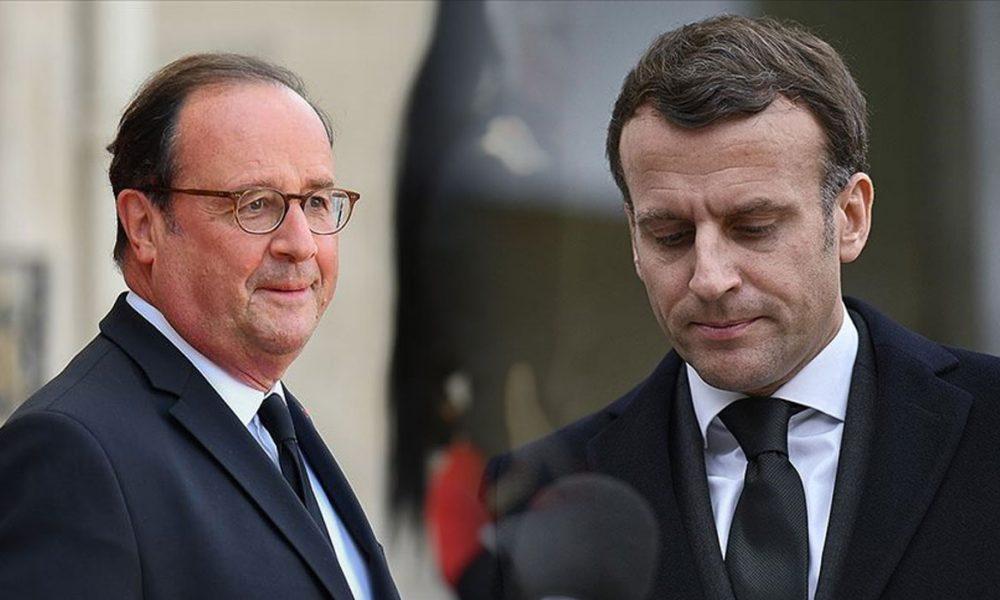 Eski Fransa Cumhurbaşkanı Hollande: Macron'u kendisine ihanetle mi suçluyor?