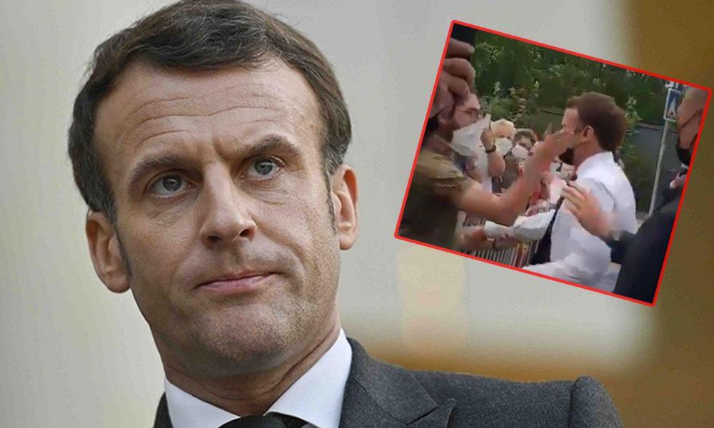 Hızlı yargı: Fransa Cumhurbaşkanı'na tokat atan yurttaş cezaevinde