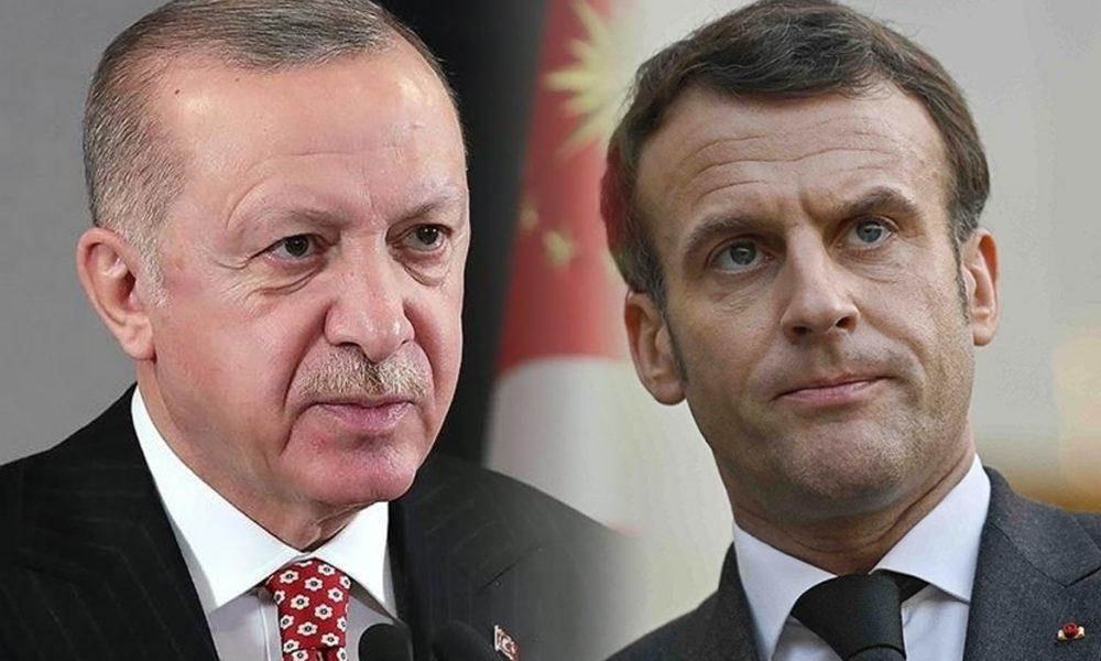 """Macron'dan Erdoğan'a barış çubuğu: """"Fikir ayrılıkları olsa da birbirimizle konuşmalıyız"""""""