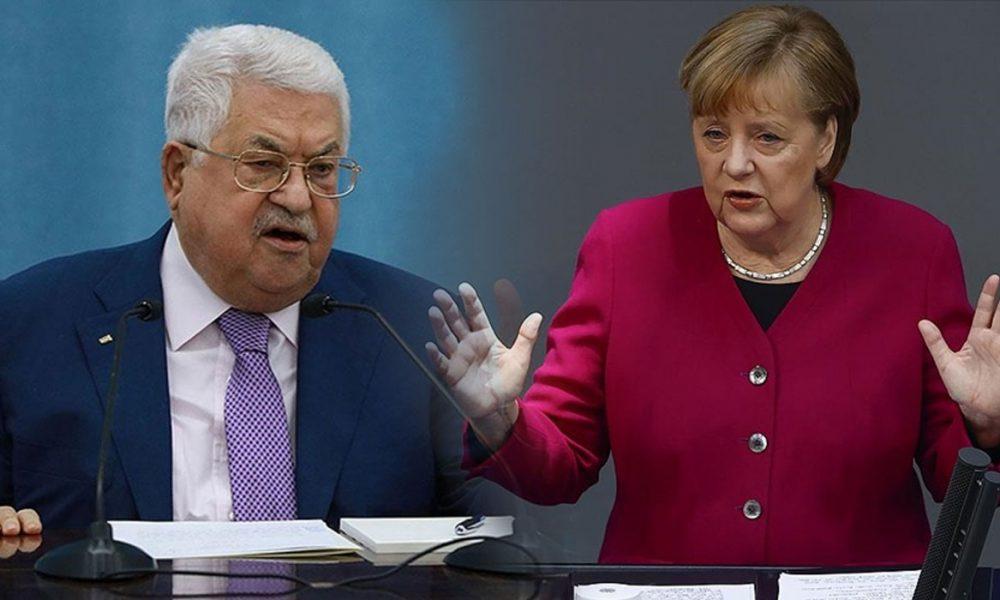 Merkel-Abbas görüşmesi: Ateşkeste mutabık kaldılar
