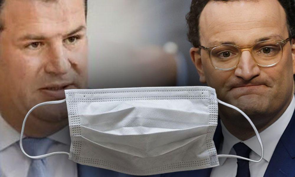 """Covid-19 siyaset sahnesinde: CDU ile SPD'nin arasını """"kalitesiz maske"""" açtı"""