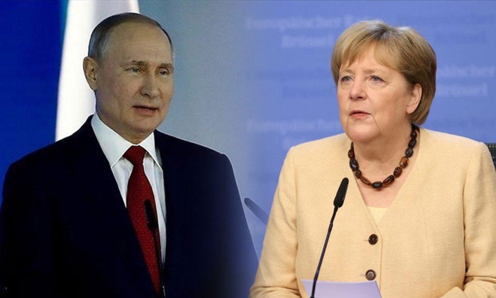 Merkel ve Putin Ukrayna'da barış için görüştüler