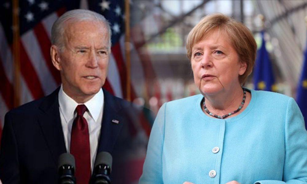 Almanya Başbakanı Merkel, ABD Başkanı Biden ile telefonda görüştü