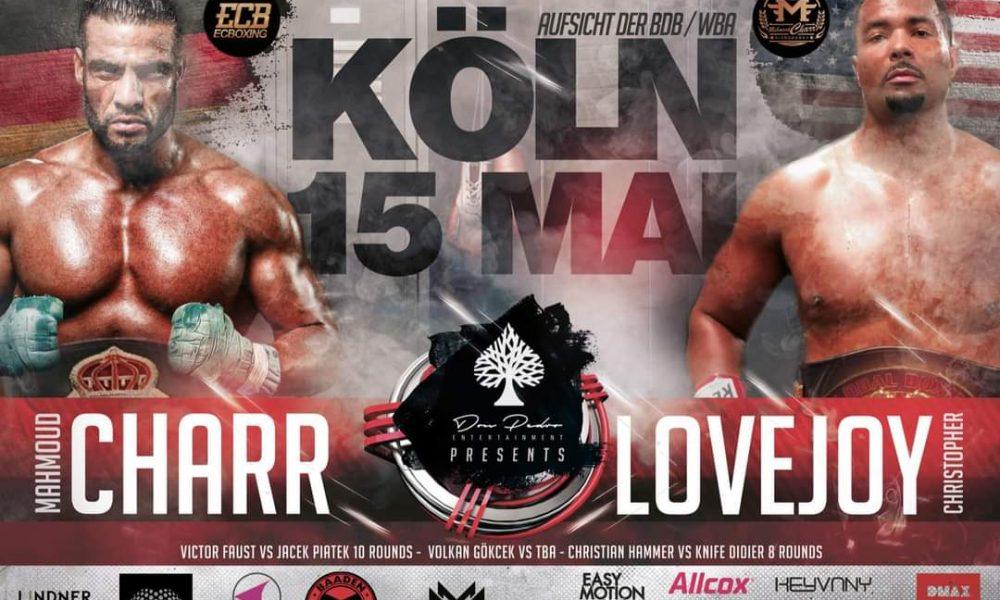 Mahmoud Charr, Köln'de ringe çıkıyor: Rakibi Lovejoy 19 maçını nakavtla kazanmış