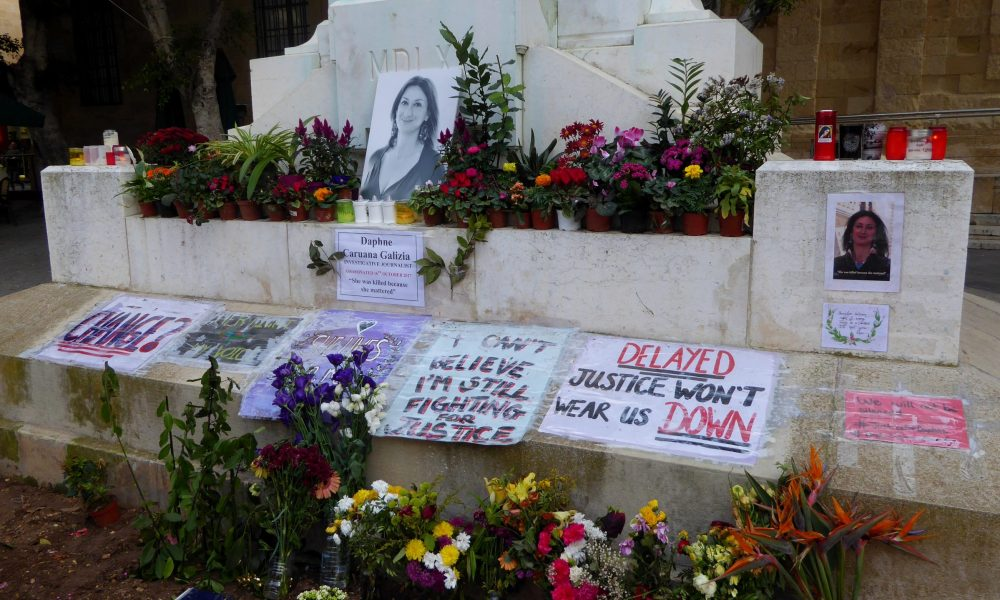 """Gazeteci Daphne Galizia suikasti: Soruşturma """"devletin sorumluluğunu"""" açığa çıkardı"""