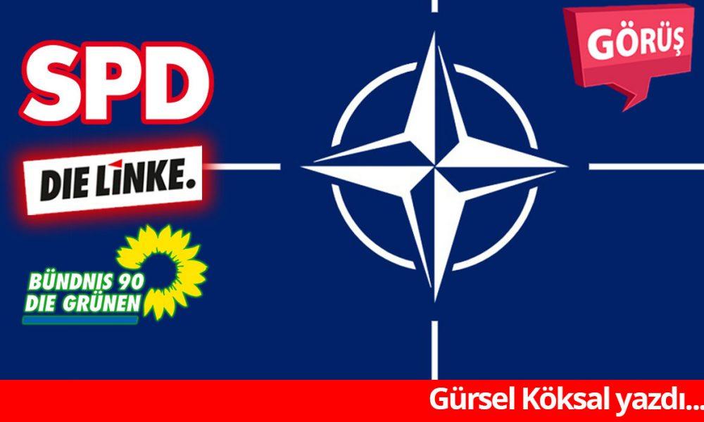 """Almanya'da """"sol ittifak"""" için önkoşul """"NATO'ya bağlılık"""": İktidara çıkan yol"""