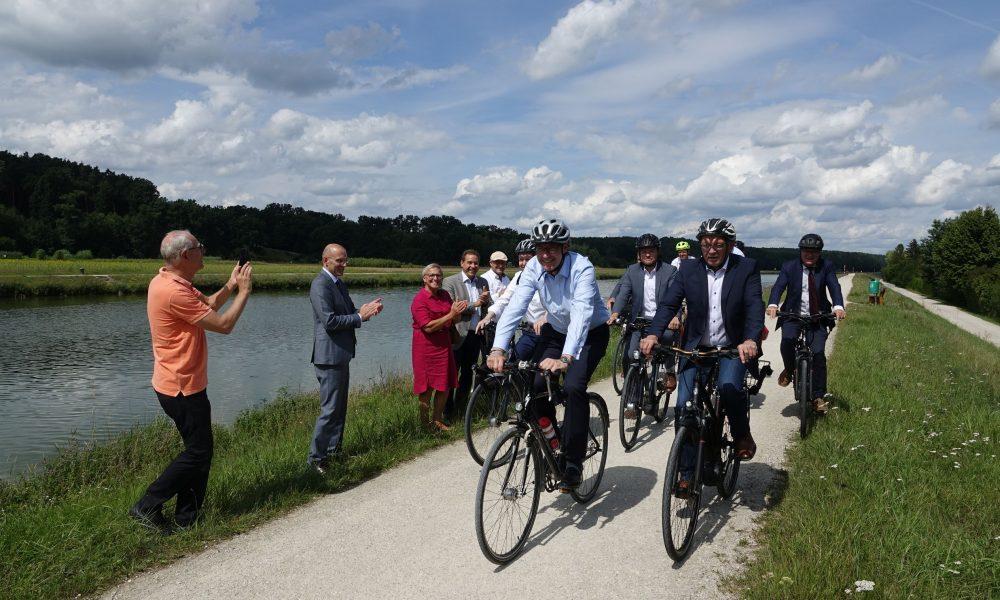 Bamberg'den Nürnberg'e dek bisiklet ağı genişletiliyor