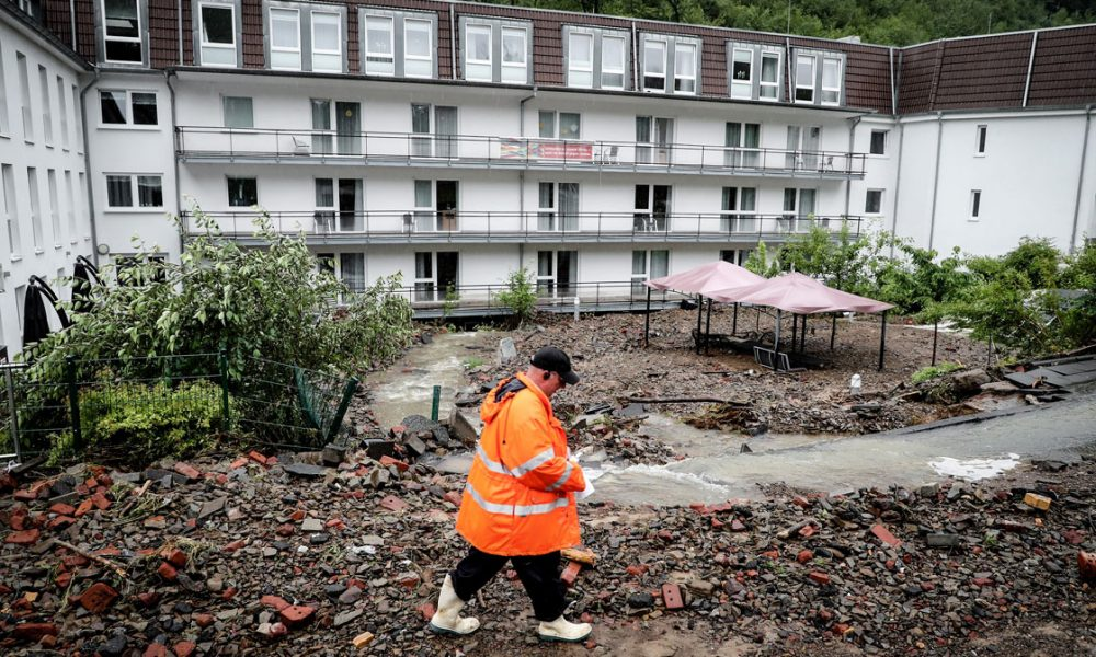 Almanya'daki sel mağdurları için DİTİB'den bağış kampanyası