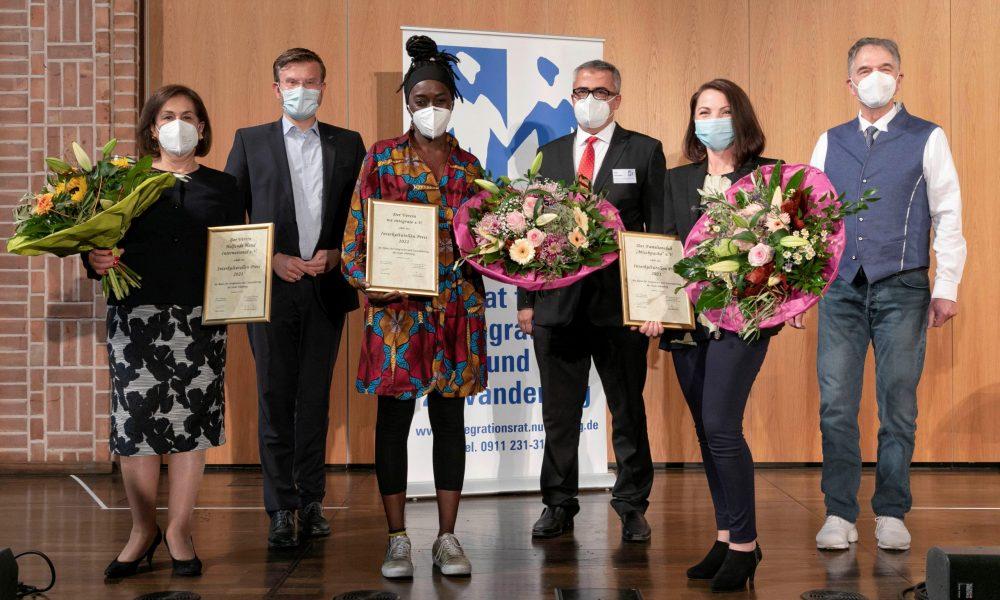 Nürnberg Kültürlerarası Ödülleri: Mültecilere, yaşlılara ve çocuklara yardım edenlere verildi