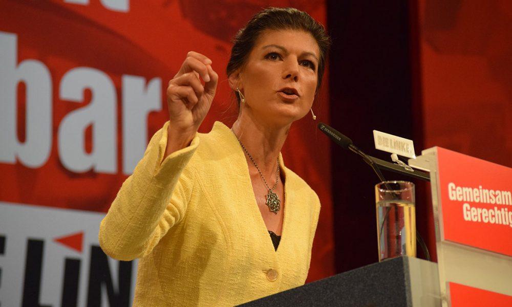 """Seçime doğru Sol Parti karıştı: """"Sol liberalleri"""" topa tutan Sahra Wagenknecht ateş altında"""