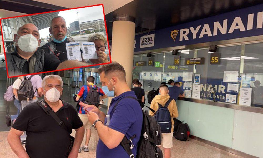Yolcular Barcelona Havaalanı'nda mahsur kaldı