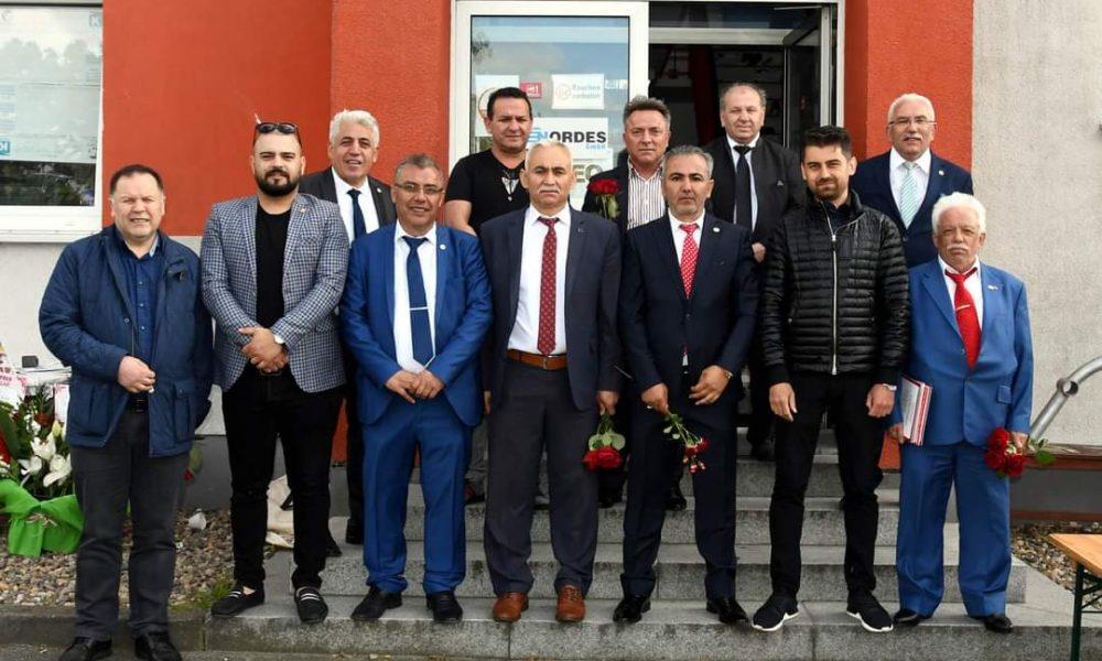 """AYDEF'in resmi açılışı: """"Türkiye'ye de Almanya'ya da sorumluluğumuz var"""""""