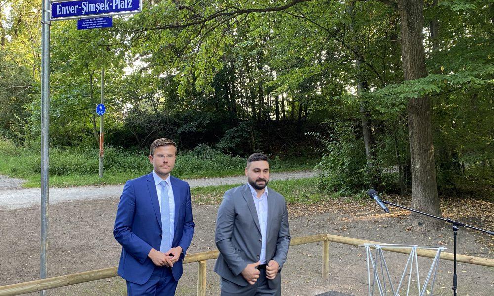 Neonazi terör örgütü NSU'nun ilk kurbanıydı: Nürnberg'de Enver Şimşek Meydanı'nın açılışı yapıldı