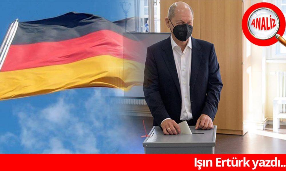 """Almanya'da """"Olaf Scholz"""" devri mi? Seçmen """"sosyal adalet"""" ve """"iklim"""" dedi."""