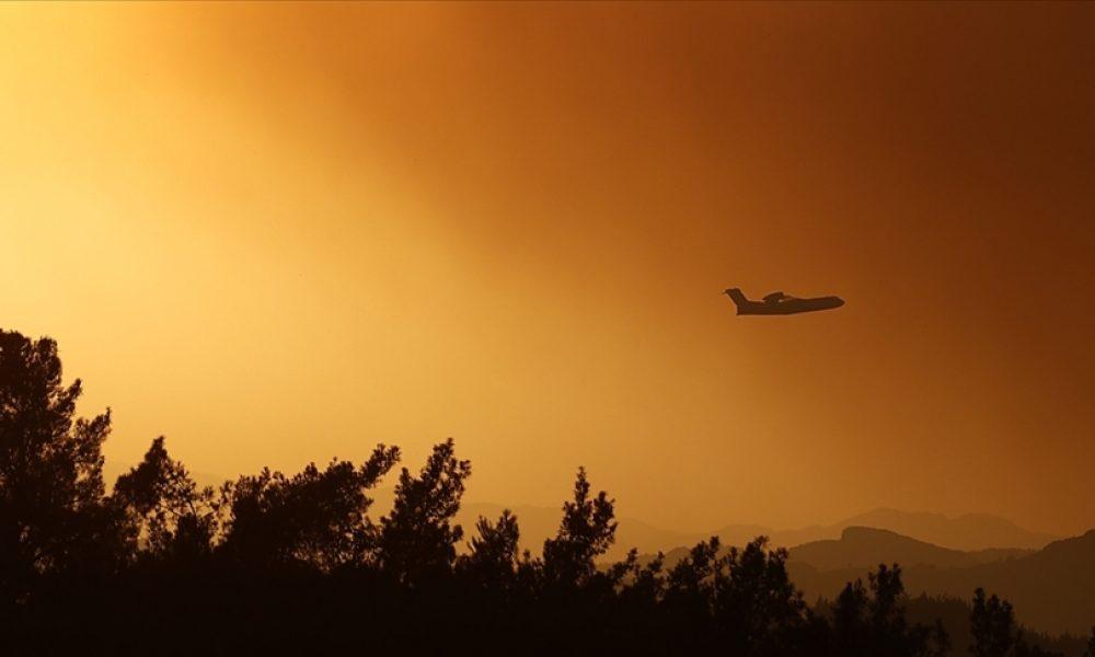 AB'den Türkiye'ye yangın söndürme desteği: 3 uçak gönderildi