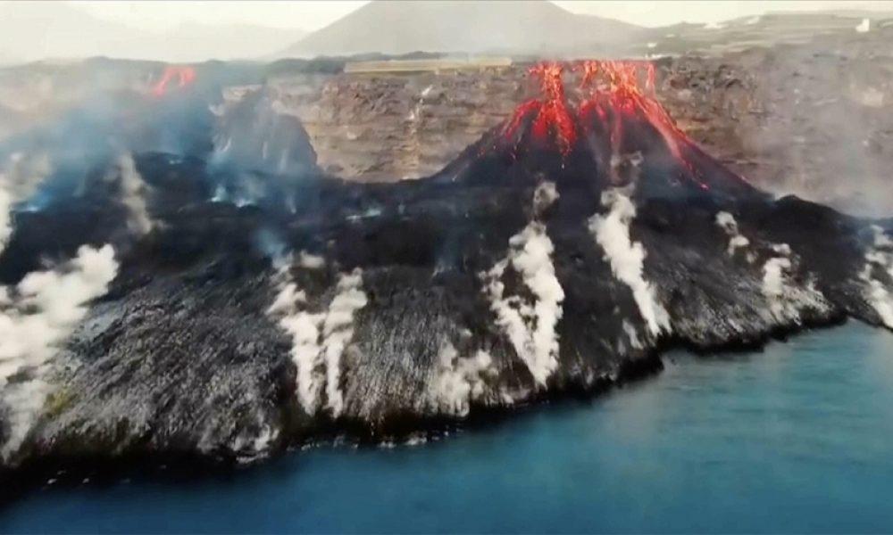 İspanya'daki Cumbre Vieja Yanardağı: Lavlar 431 hektarlık alanı kapladı