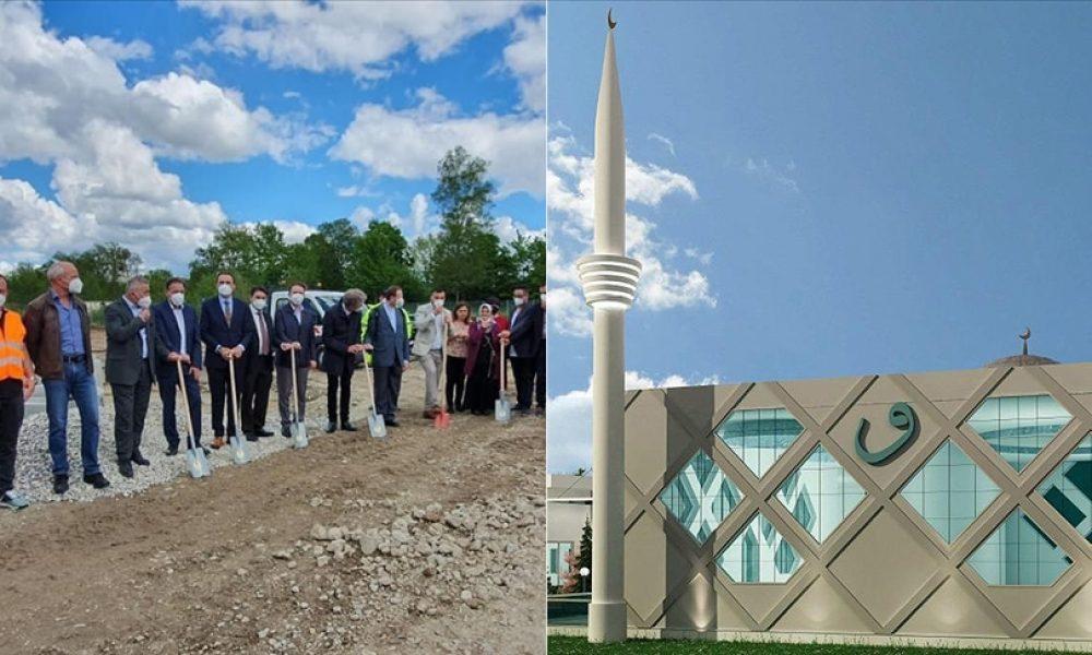 Schrobenhausen DİTİB Camii'nin temeli atıldı: Hedef en geç üç yılda bitirmek