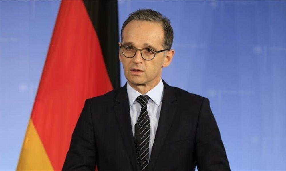 Alman Dışişleri Bakanı Maas Türkiye'de: Afganistan konuşulacak