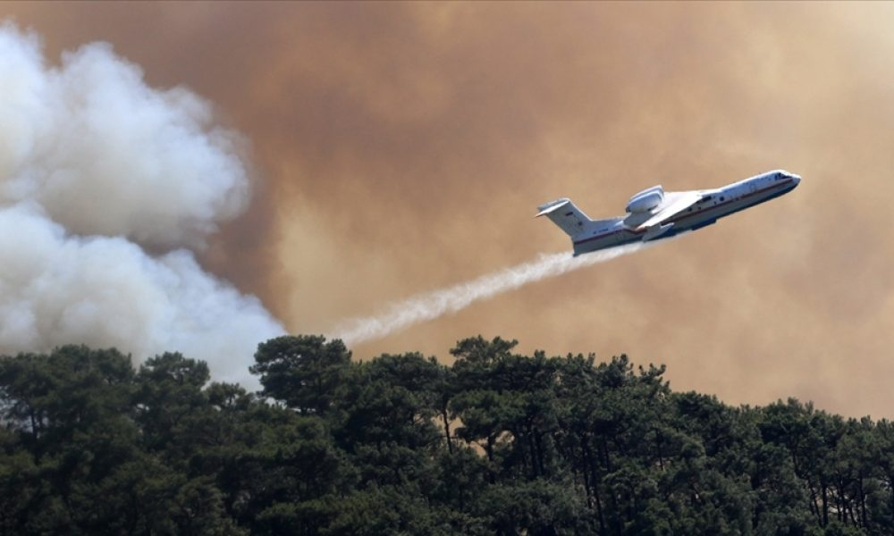 Güney Avrupa ülkelerinde yangın uyarısı: Binlerce hektar orman tehlikede