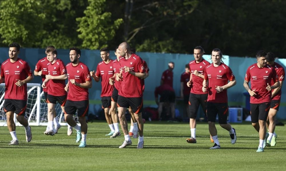 A Milli Futbol Takımı, Almanya'daki ilk çalışmasını yaptı
