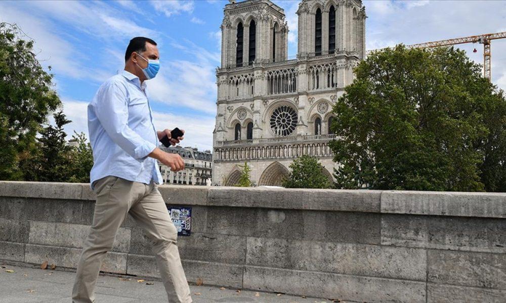 Fransa'da vaka sayısı temmuzdan bu yana en düşük seviyede