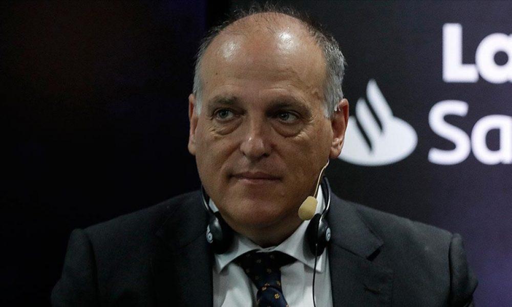 "LaLiga Başkanı Javier Tebas: ""Tehlike FİFA Başkanı Gianni İnfantino"""