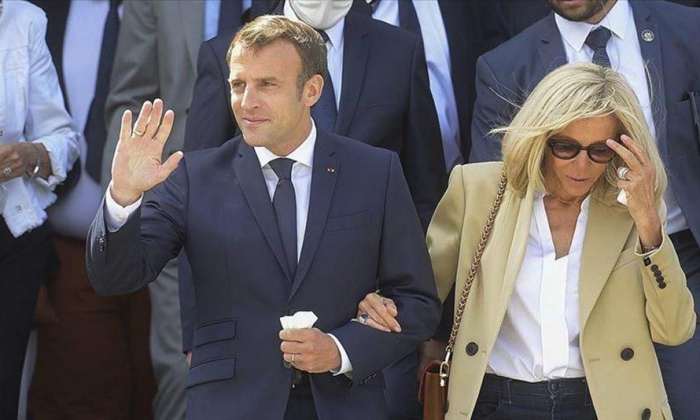 """Fransa'da Macron çiftinin eski imaj danışmanı adli gözetimde: """"Tanık korkutma"""" suçlaması var"""