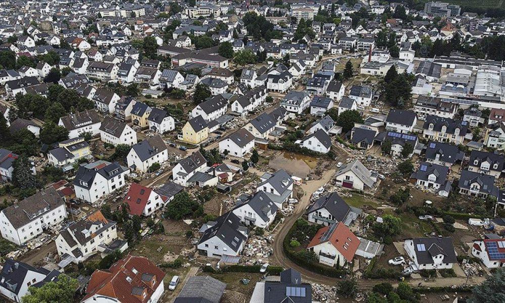 Almanya'da sel felaketinin ardından telefon bağlantısı sorunu yaşanıyor