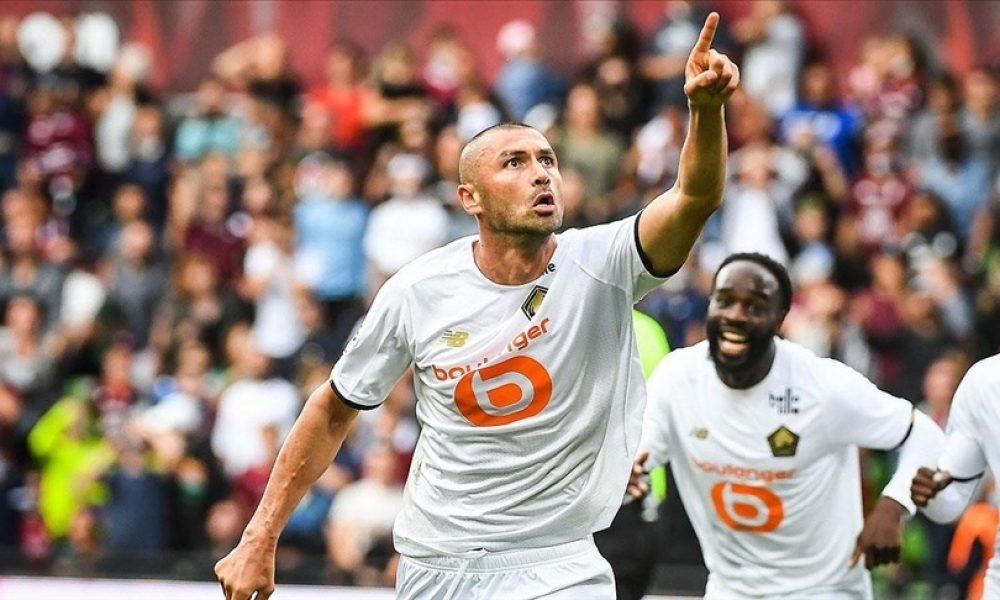 Lille'de ağustos ayının futbolcusu Burak Yılmaz